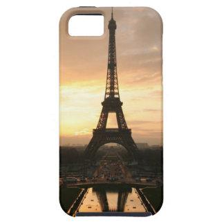 Torre Eiffel en la salida del sol del Trocadero Funda Para iPhone 5 Tough
