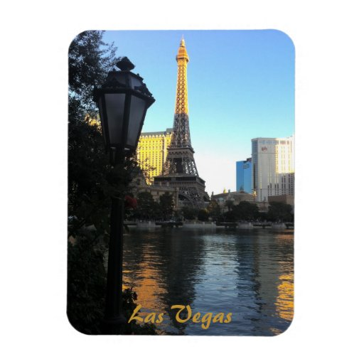 Torre Eiffel en Las Vegas Imán