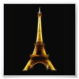 Torre Eiffel en París Francia Arte Con Fotos