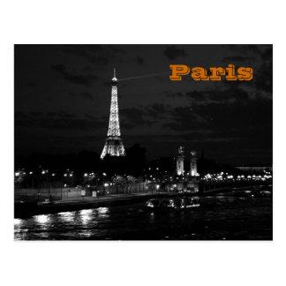 Torre Eiffel en París Tarjetas Postales