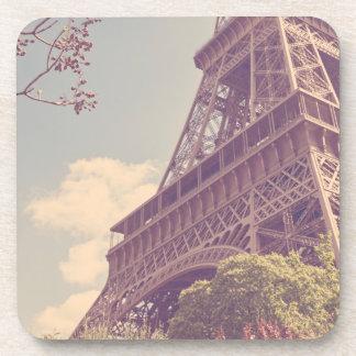 Torre Eiffel en primavera Posavasos