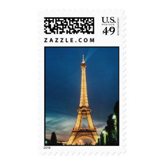 torre Eiffel en Sello