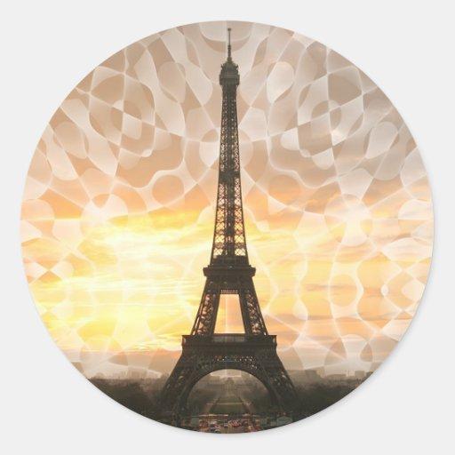 Torre Eiffel Etiqueta