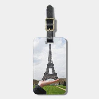 Torre Eiffel Etiqueta De Maleta