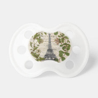 torre Eiffel femenina moderna de París de la Chupetes De Bebé