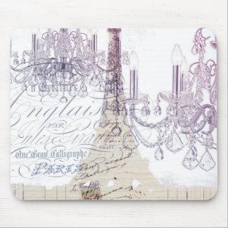 torre Eiffel femenina moderna de París de la Tapetes De Raton