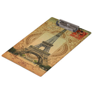 torre Eiffel femenina moderna de París del vintage
