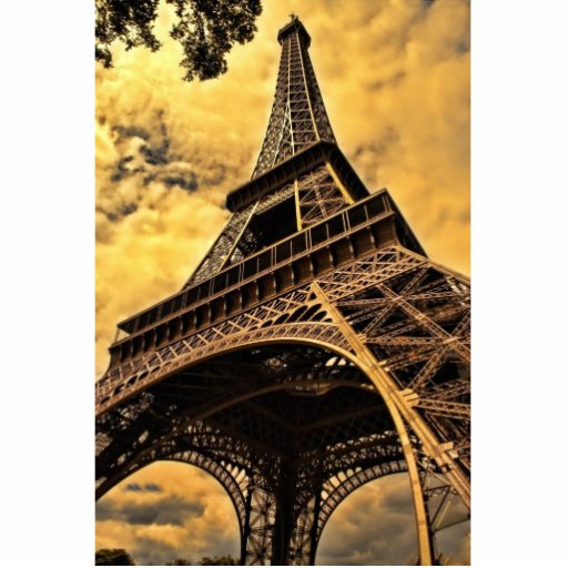 Torre Eiffel Fotoescultura Vertical