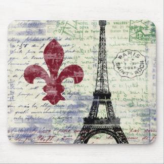 Torre Eiffel Francia Mousepad Tapetes De Raton
