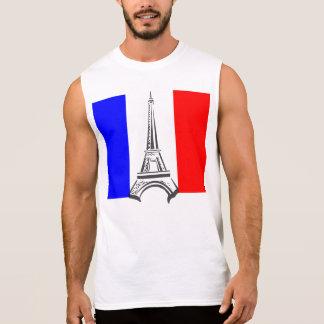 Torre Eiffel Francia Camiseta Sin Mangas