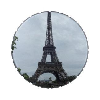Torre Eiffel Frascos De Caramelos