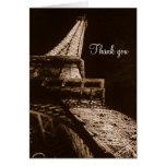 Torre Eiffel - gracias Felicitaciones