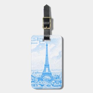 Torre Eiffel gráfica Etiquetas Maleta