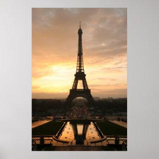 Torre Eiffel, grande Póster