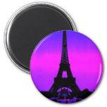 Torre Eiffel Imán Para Frigorifico