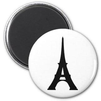 Torre Eiffel Imán Redondo 5 Cm