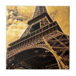 Torre Eiffel imponente Azulejo Ceramica