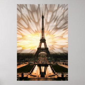 Torre Eiffel, impresión Póster