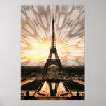 Torre Eiffel, impresión Posters