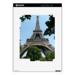 Torre Eiffel iPad 2 Calcomanías