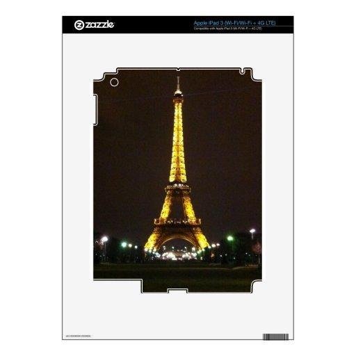 Torre Eiffel iPad 3 Skin
