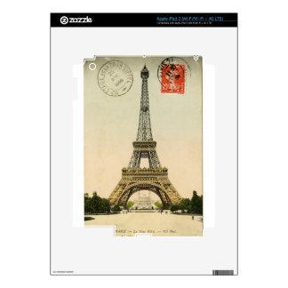 Torre Eiffel iPad 3 Skins