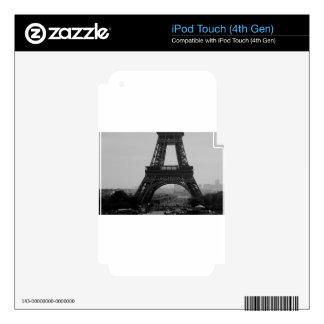 Torre Eiffel iPod Touch 4G Calcomanías