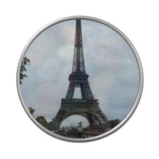 Torre Eiffel Jarrones De Caramelos