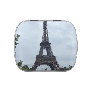 Torre Eiffel Jarrones De Dulces
