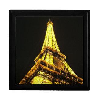 Torre Eiffel Joyero Cuadrado Grande
