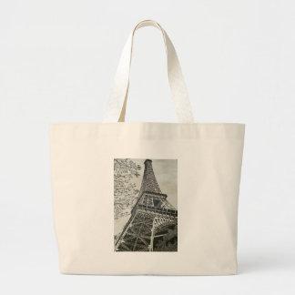 Torre Eiffel Large Tote Bag