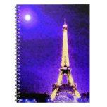 Torre Eiffel Libretas Espirales
