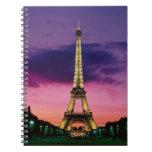 Torre Eiffel Libros De Apuntes