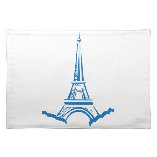 Torre Eiffel Mantel Individual