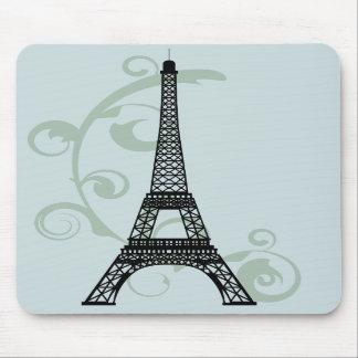 Torre Eiffel Mousepad Alfombrillas De Ratón