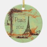Torre Eiffel París Adorno
