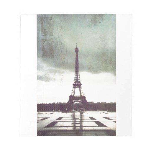 Torre Eiffel, París Bloc De Papel