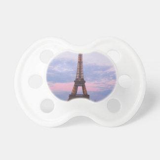 Torre Eiffel París Chupetes De Bebe