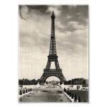 Torre Eiffel París del vintage Arte Fotografico