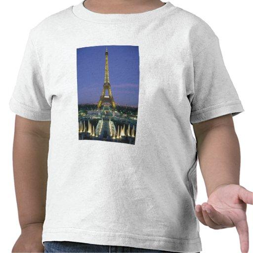 Torre Eiffel, París, Francia 2 Camisetas