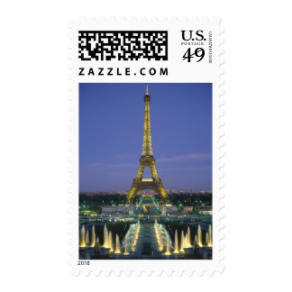 Torre Eiffel, París, Francia 2 Franqueo