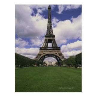 Torre Eiffel, París, Francia 3 Postal
