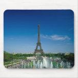 Torre Eiffel, París, Francia Alfombrilla De Ratón