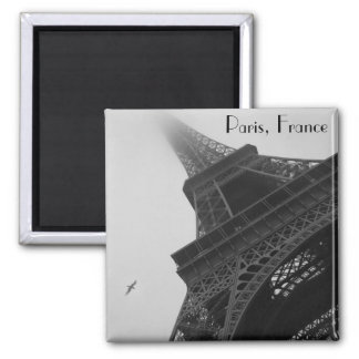 Torre Eiffel París Francia Imán Cuadrado