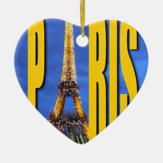 Torre Eiffel París Francia Ornamente De Reyes