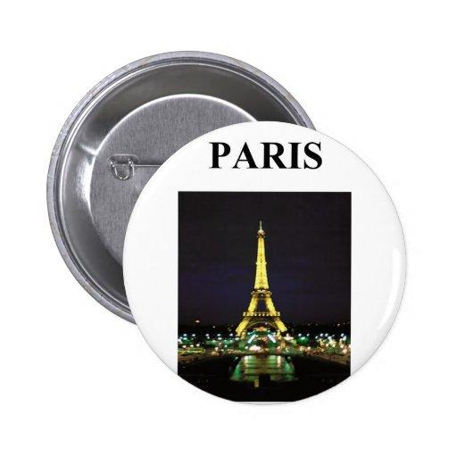 torre Eiffel París Francia Pins