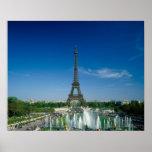 Torre Eiffel, París, Francia Póster