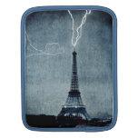 Torre Eiffel París Francia - rayo 1902 Funda Para iPads