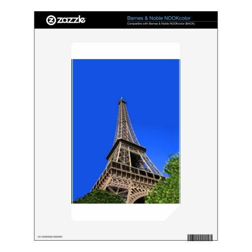 Torre Eiffel, París, Francia Skins Para NOOK Color
