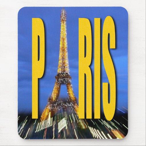 Torre Eiffel París Francia Tapete De Raton